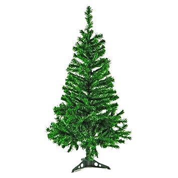 Fabelhaft künstlicher Weihnachtsbaum grün mit Ständer Christbaum Tannenbaum &WG_51