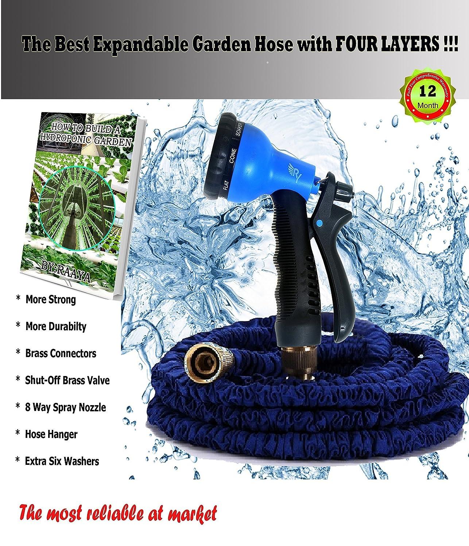 Amazoncom 50 Expandable Garden Hose Kink Free Strongest 8