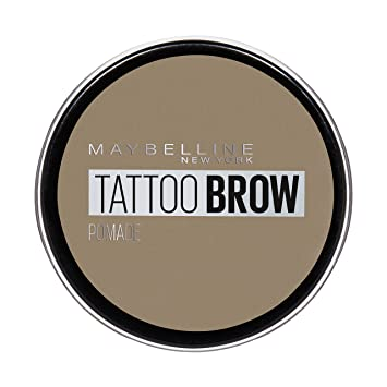 d9f9c62e823 Maybelline Tattoo Brow Pomade Pot, Light Blonde: Amazon.co.uk: Beauty