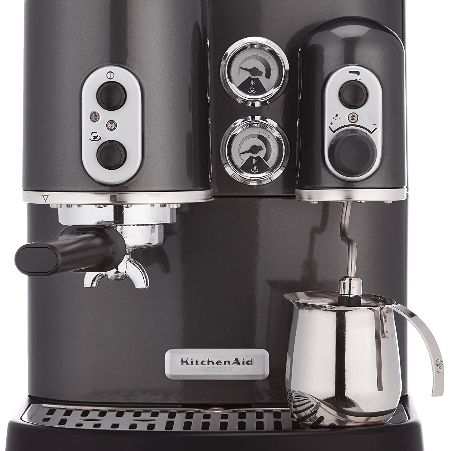 KitchenAid Artisan - Cafetera (Independiente, Negro, Espresso ...