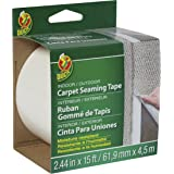 Duck Brand 442063 Self-Adhesive Fiberglass Carpet Seaming Tape, 2.44-Inch by 15-Feet, Single Roll