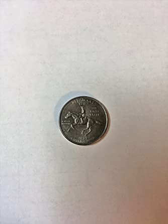 1999 D Delaware State Quarter Brilliant Uncirculated