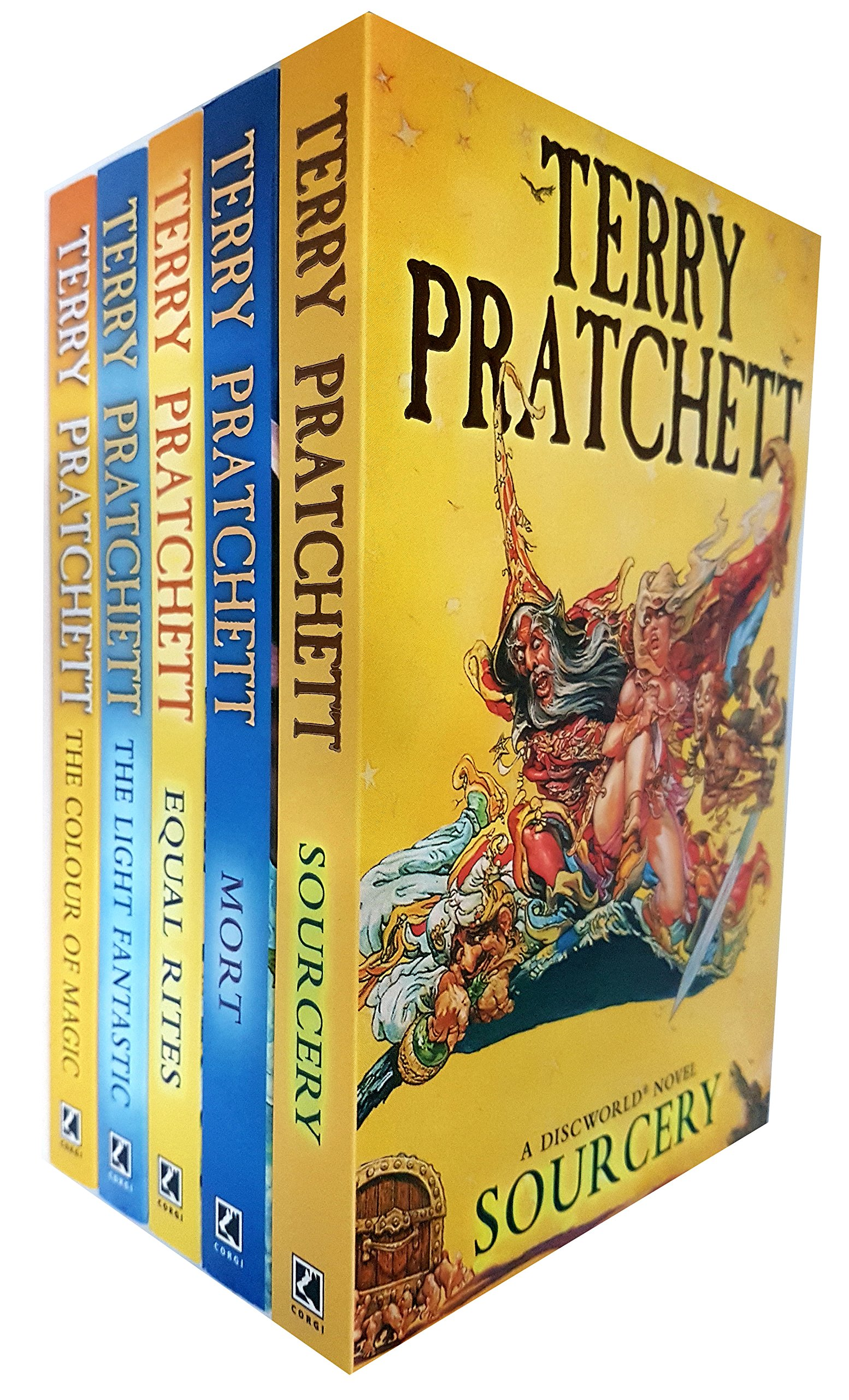 Image result for Terry Pratchett's Discworld books