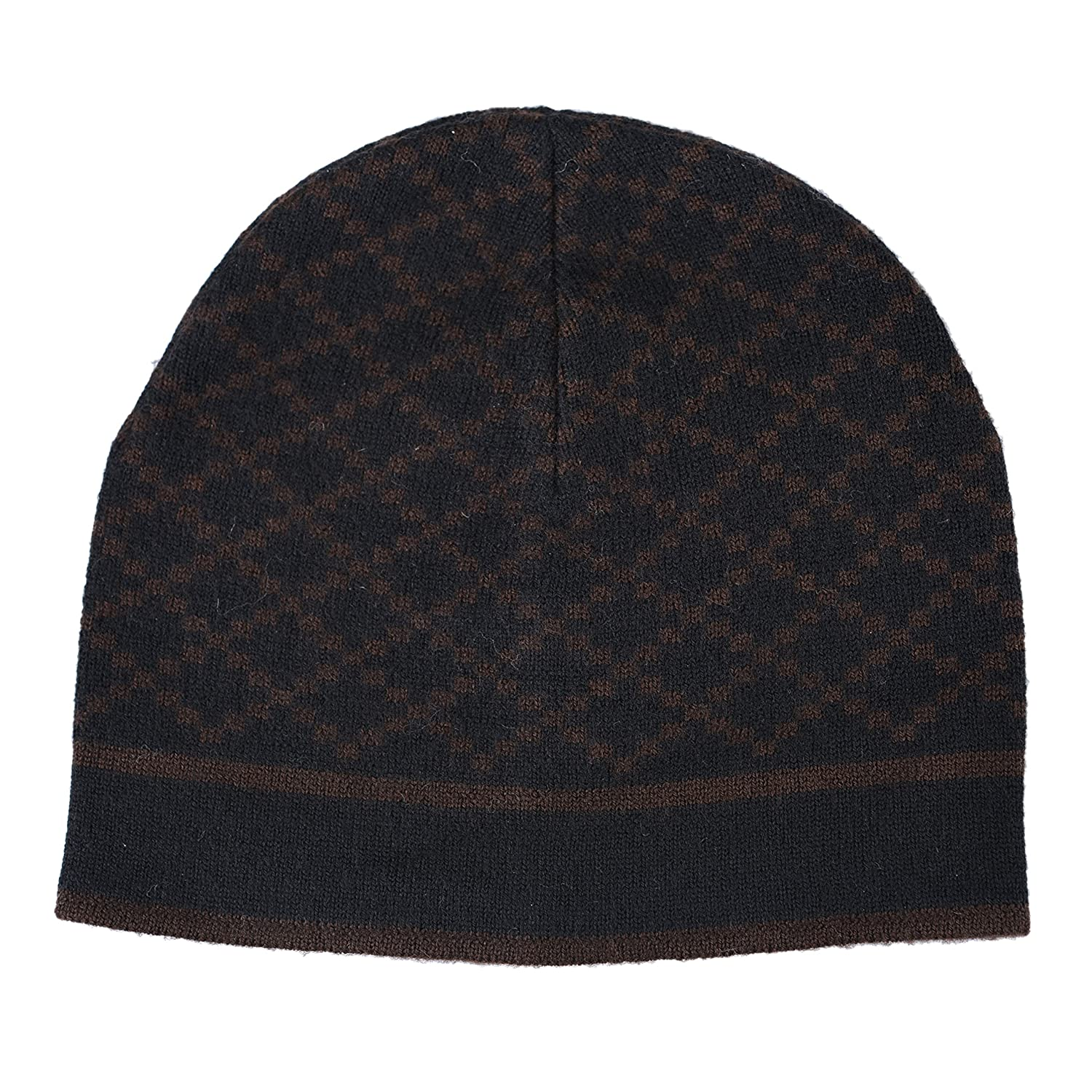 bd6a8a4d2 Amazon.com  Gucci Unisex Multi-Color 100% Wool Beanie Hat One Size  Clothing