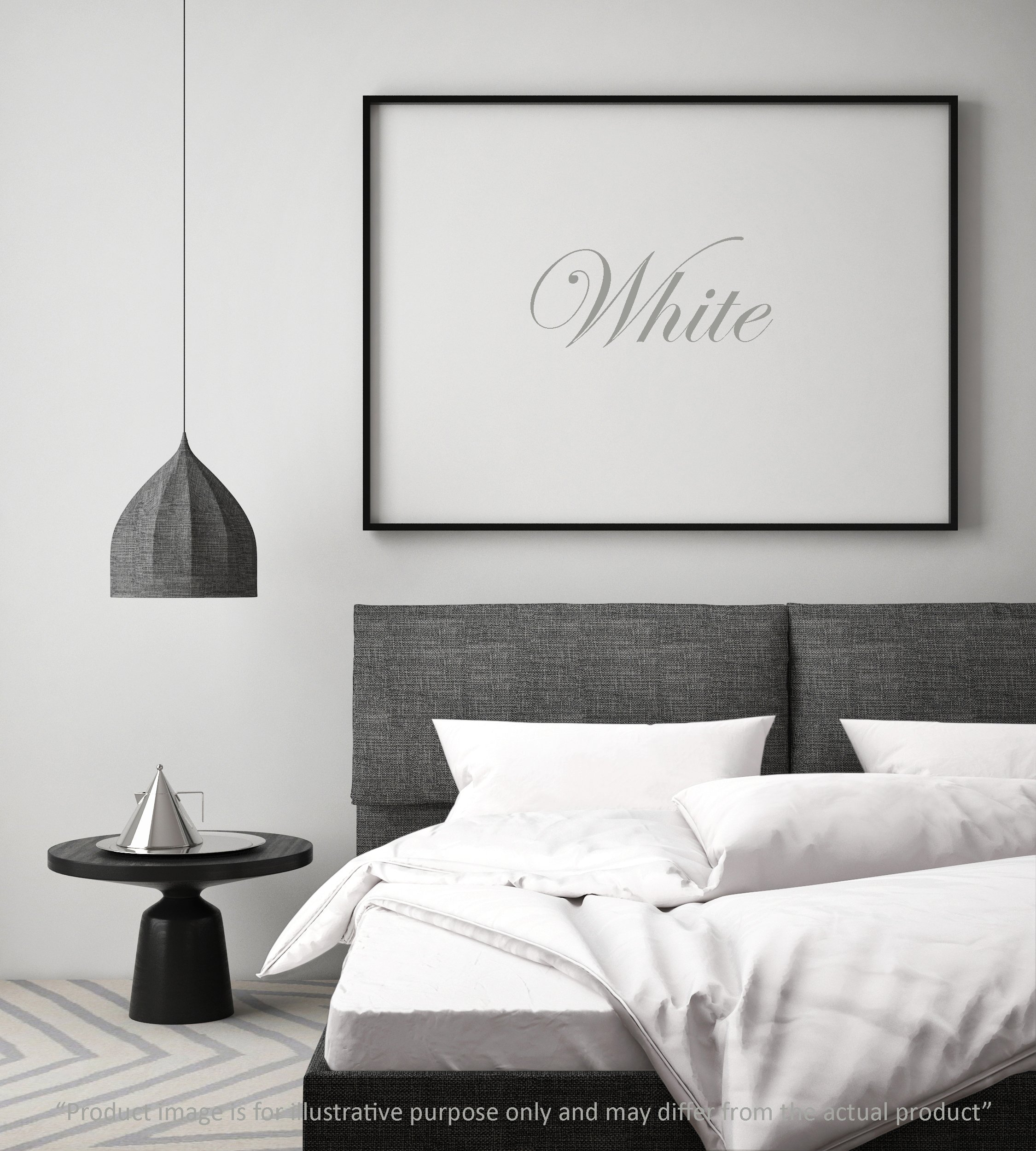 100% Cotton Percale Sheet Set, White Twin XL Sheet 4 Piece Set, Including 1-Extra Pillowcase, Long-Staple Compact, Deep Pocket Bedsheets, Crisp amd Strong Percale Weave by Linen Home
