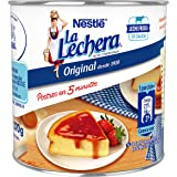 NESTLÉ LA LECHERA - Leche condensada entera - Lata de leche condensada entera abre fácil 370g