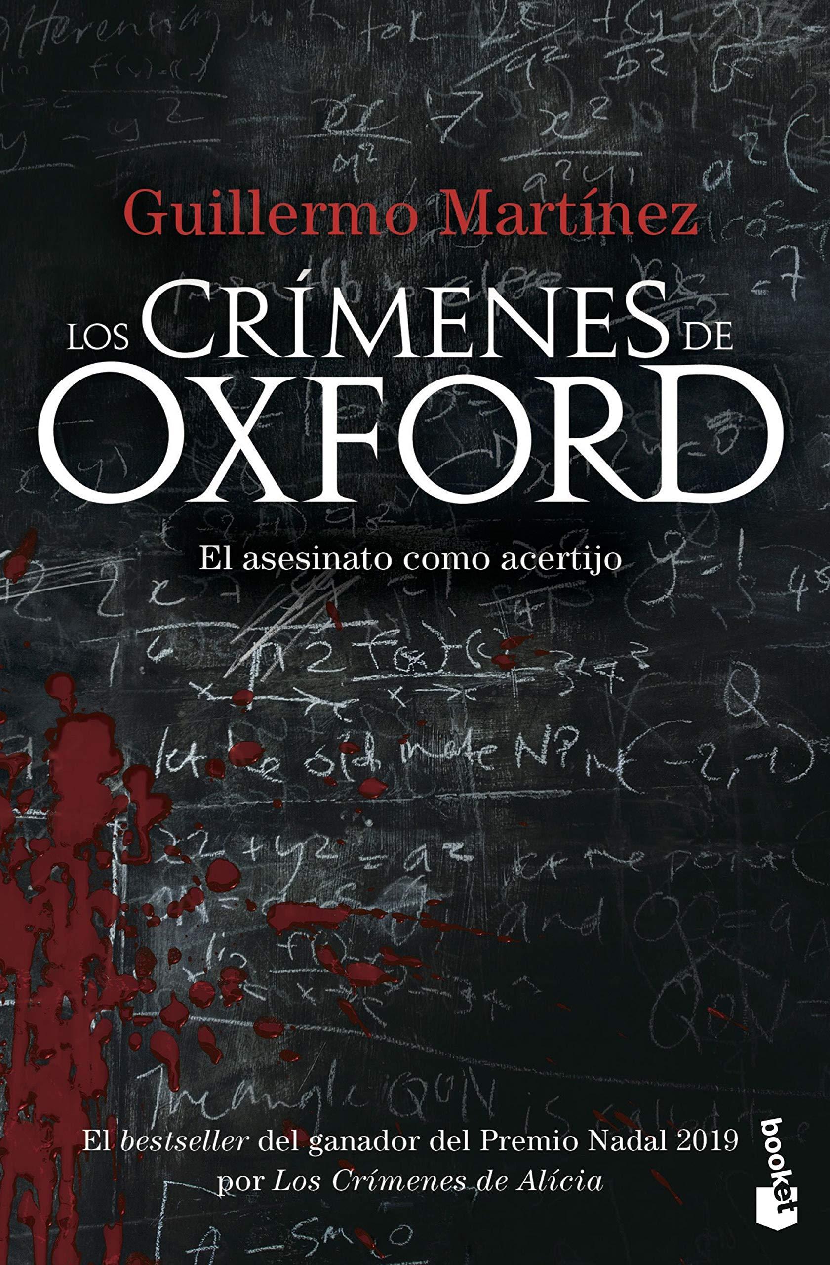 Los crímenes de Oxford (Bestseller): Amazon.es: Martínez, Guillermo: Libros