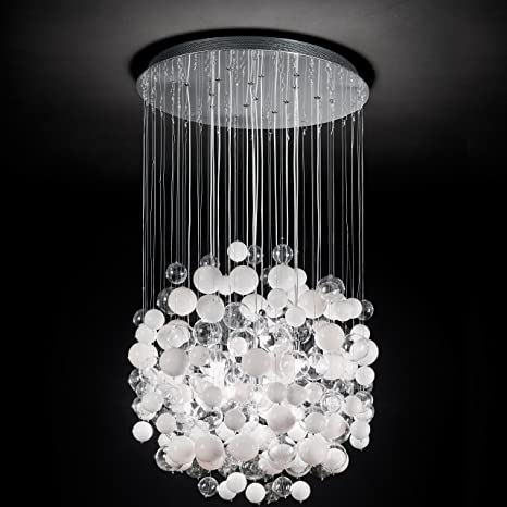 Ideal Lux BOLLICINE SP14 G9 White ceiling lighting - Ceiling ...