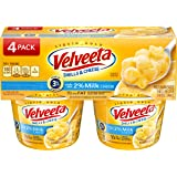Velveeta Shells & Cheese Cups Made with 2% Milk Cheese, 2.19 oz, 4 Pack