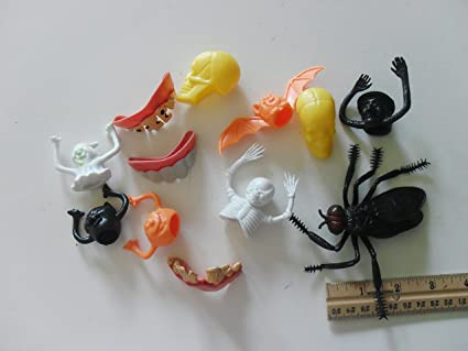 Amazon.com   colorful plastic Halloween figures (12 pieces)   Everything  Else 930382699