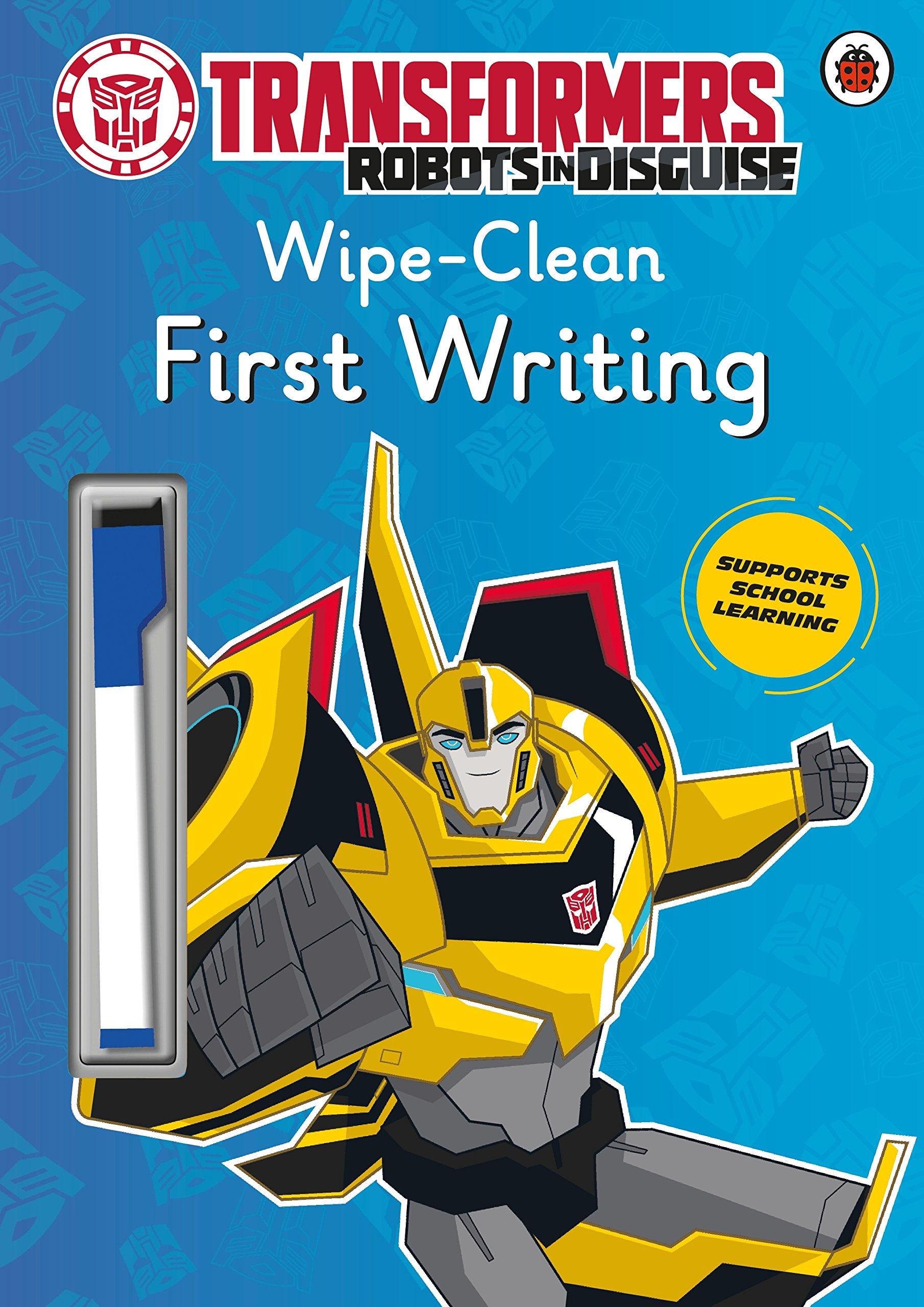 Download Transformers: Robots in Disguise - Wipe-Clean First Writing pdf