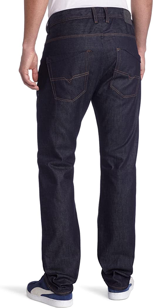 Diesel Mens Krooley Regular Slim Carrot Leg Jean 008QM