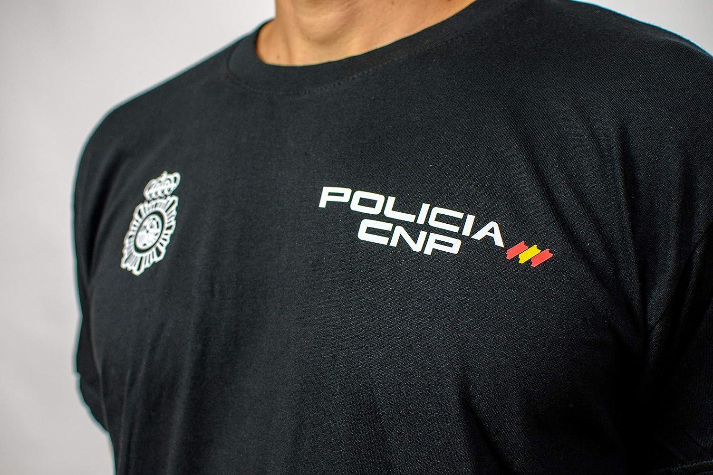 Alpimara Camiseta Policía Nacional 100% Algodon Adulto (Negro, XS): Amazon.es: Ropa y accesorios