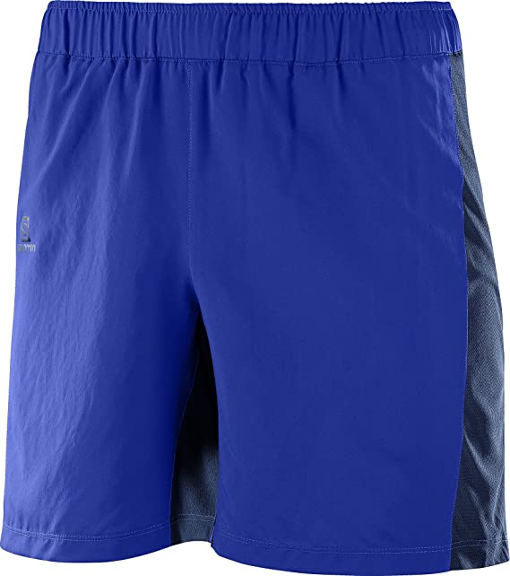 SALOMON Herren Agile 7'' Short M Surf The WDress Blue