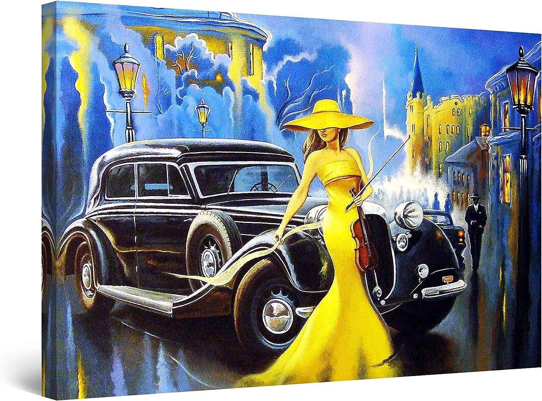 CITROEN multiple car VINTAGE AD POSTER 1969 collectors historic 24X36 NEW