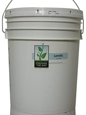 Survival Food Storage - Lentils Small Red - Great for disaster emergency earthquake  sc 1 st  Amazon.com & Amazon.com : Survival Food Storage - Lentils Small Red - Great for ...