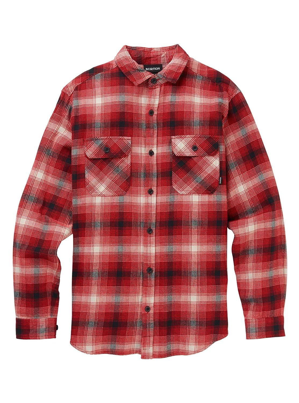 Flame Bad Hombre Plaid XSmall BURTON Men's Brighton LS Woven Shirt
