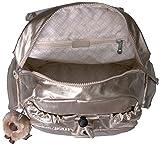 Kipling Womens Ravier Backpack, Sparkly Gold