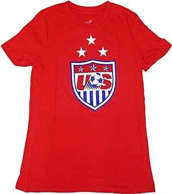 11d31c60ae Amazon.com: Team USA Soccer Graphic Logo Red Youth T Shirt: Clothing