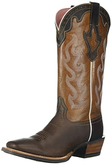 895ed8a95cb5 ARIAT Women s Crossfire Caliente Western Boot Weathered Brown Size 5.5 B Medium  Us