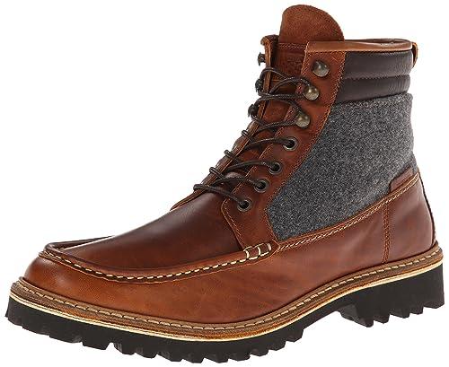 Wolverine Ricardo Brown Leather/Wool, Botines para Hombre, Marrón, 41 EU: Amazon.es: Zapatos y complementos