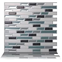 TIC TAC TILES ★ AU ★ Premium 3D Peel & Stick Wall Tile in Como Marrone