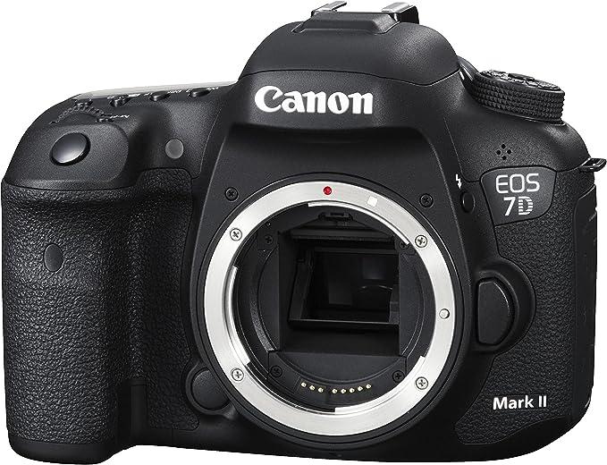 Canon EOS 7D Mark II + W-E1 Cuerpo de la cámara SLR 20.2MP CMOS ...