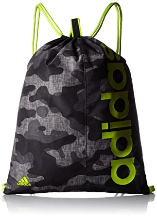 16417de32614 adidas Linear Performance Graphic Gym Bag - Black  Amazon.co.uk ...