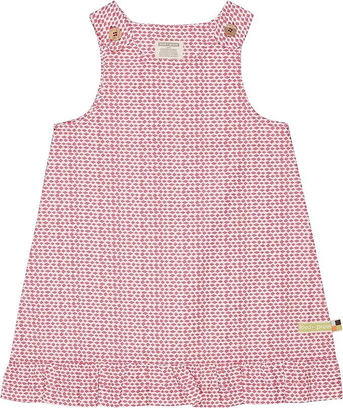 proud M/ädchen Kleid mit Jacquard-Muster Kinderkleid loud