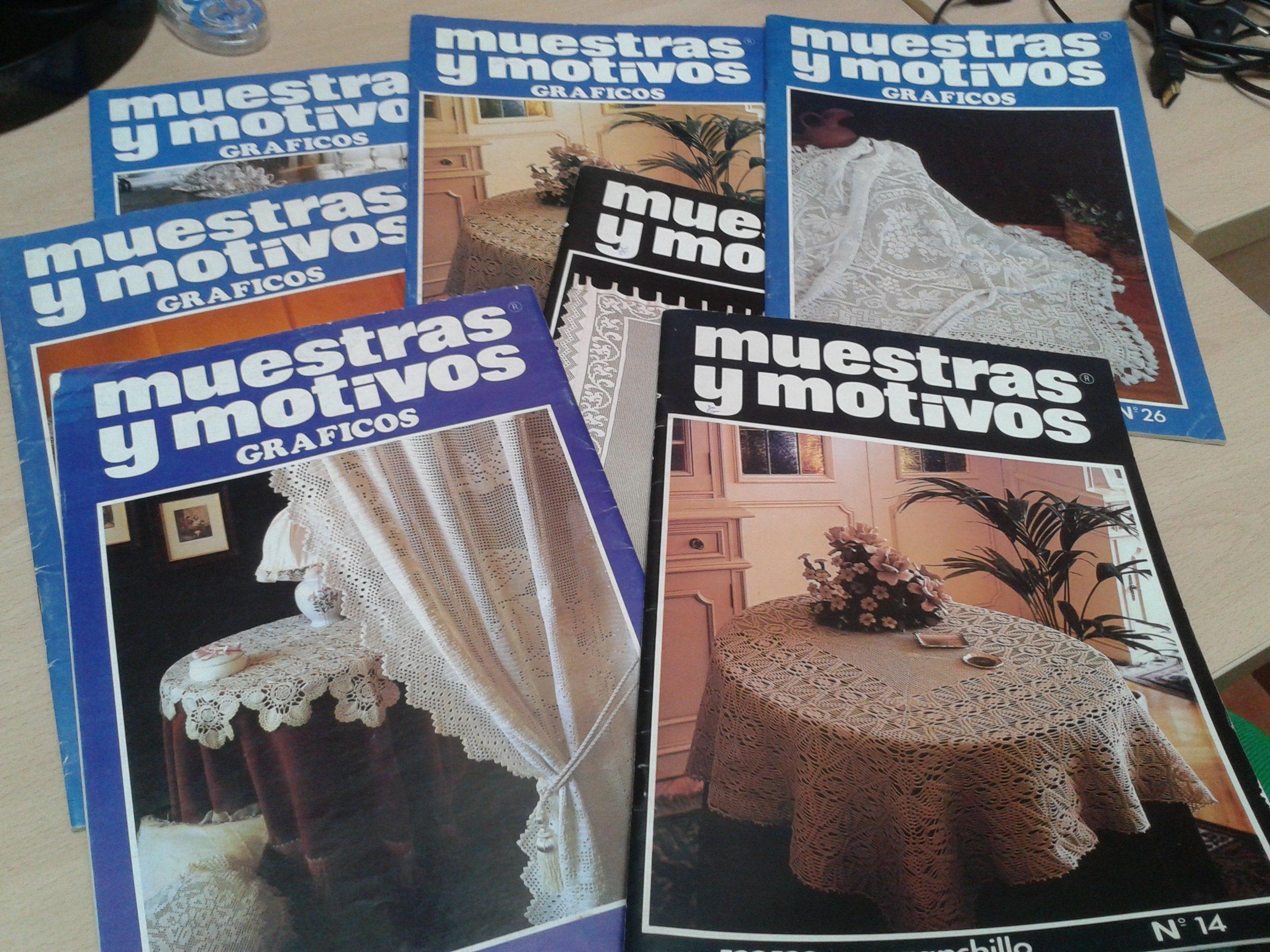 MUESTRAS Y MOTIVOS - Revista de ganchillo: Amazon.es: m.m.ediciones: Libros