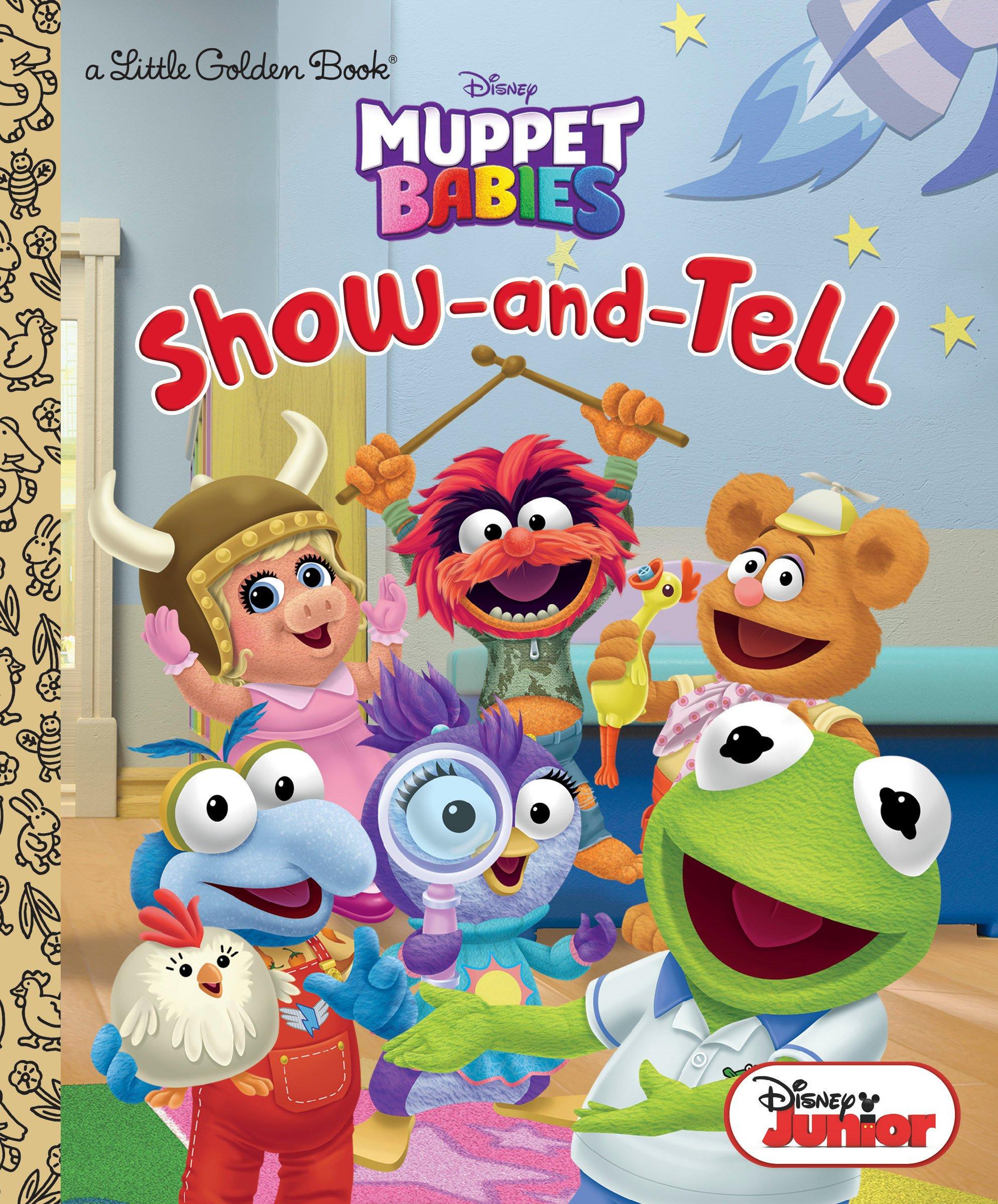 amazon show and tell disney muppet babies little golden book