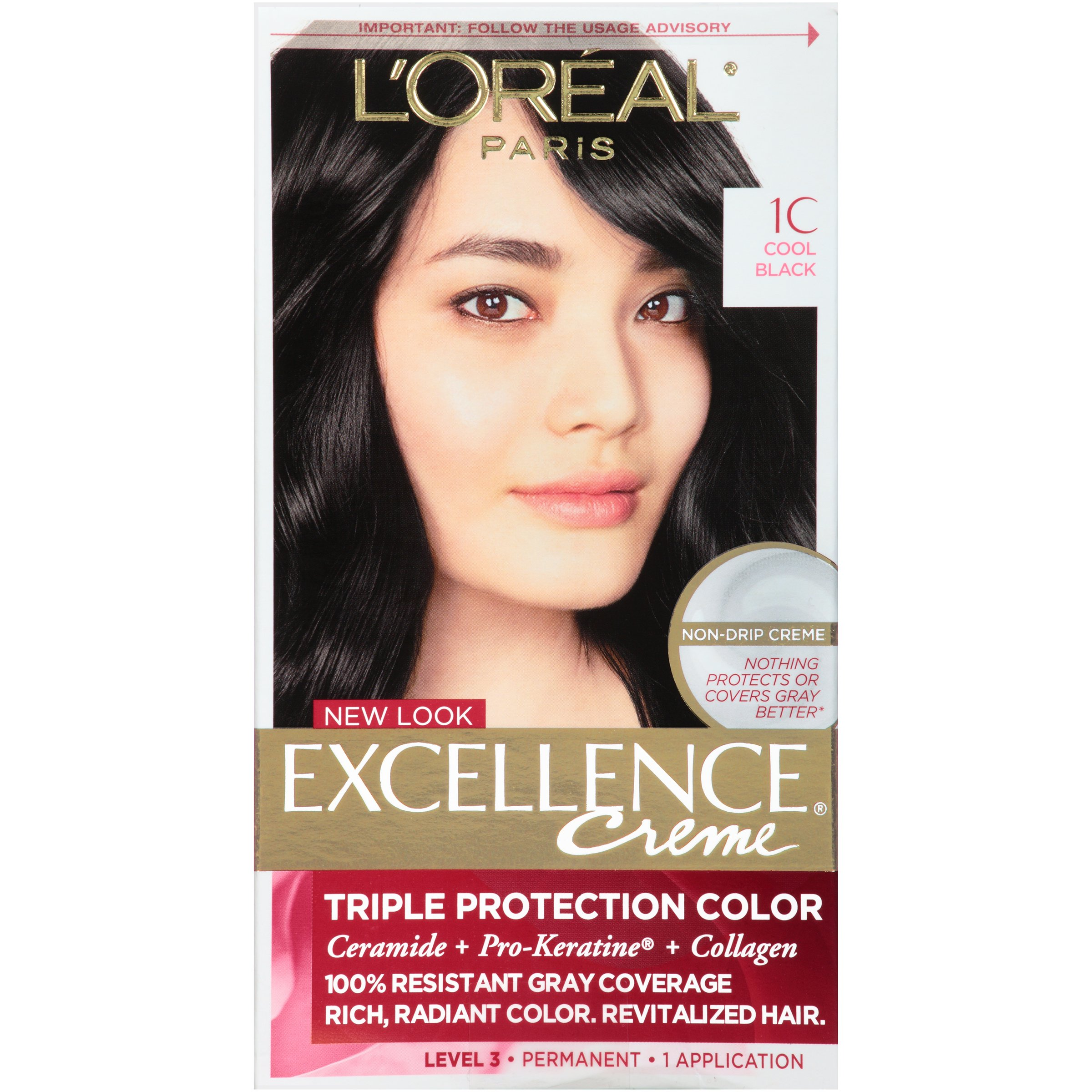 Amazon Loreal Paris Excellence Creme Hair Color 1bb Velvet