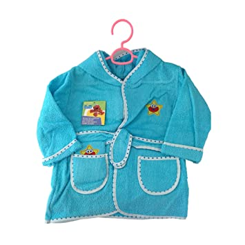 Amazon.com : Baby Deluxe Terry Hooded Bathrobe with Washcloth Towel : Baby