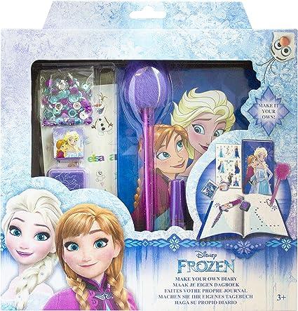 Multicoloured Frozen Diaries