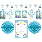 kit decorating first communion blue by Amscan