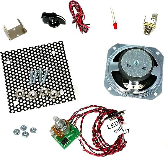 Great 2.5-watt Parts-Only Cigar Box Amplifier Kit