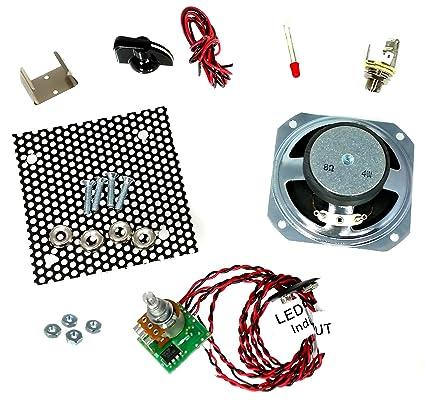 great 2 5 watt parts only cigar box amplifier kit  cigar box amp wiring diagram wiring