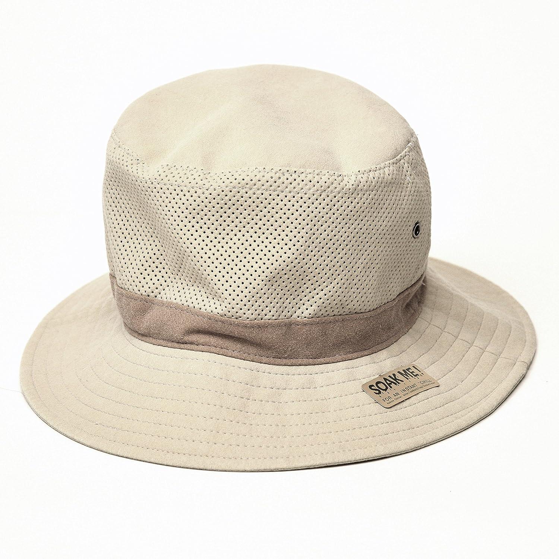 de973ea9c8b Amazon.com   Aussie Chiller Bucket Hat - White pearl - Large   Everything  Else