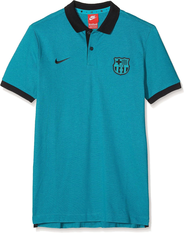 Nike FC Barcelona Y Authentic Grand Slam Sportswear Polo Camiseta ...