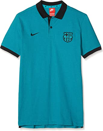 Nike FC Barcelona Y Authentic Grand Slam Sportswear Polo Camiseta ...