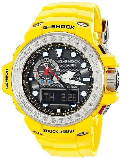 Casio GWN1000-9A Mens G-Shock Gulfmaster Black Ana-Digi Dial Triple Sensor
