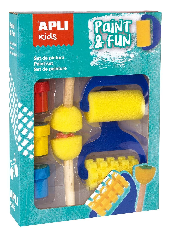APLI Kids Sellos de esponja ABC 26 uds.