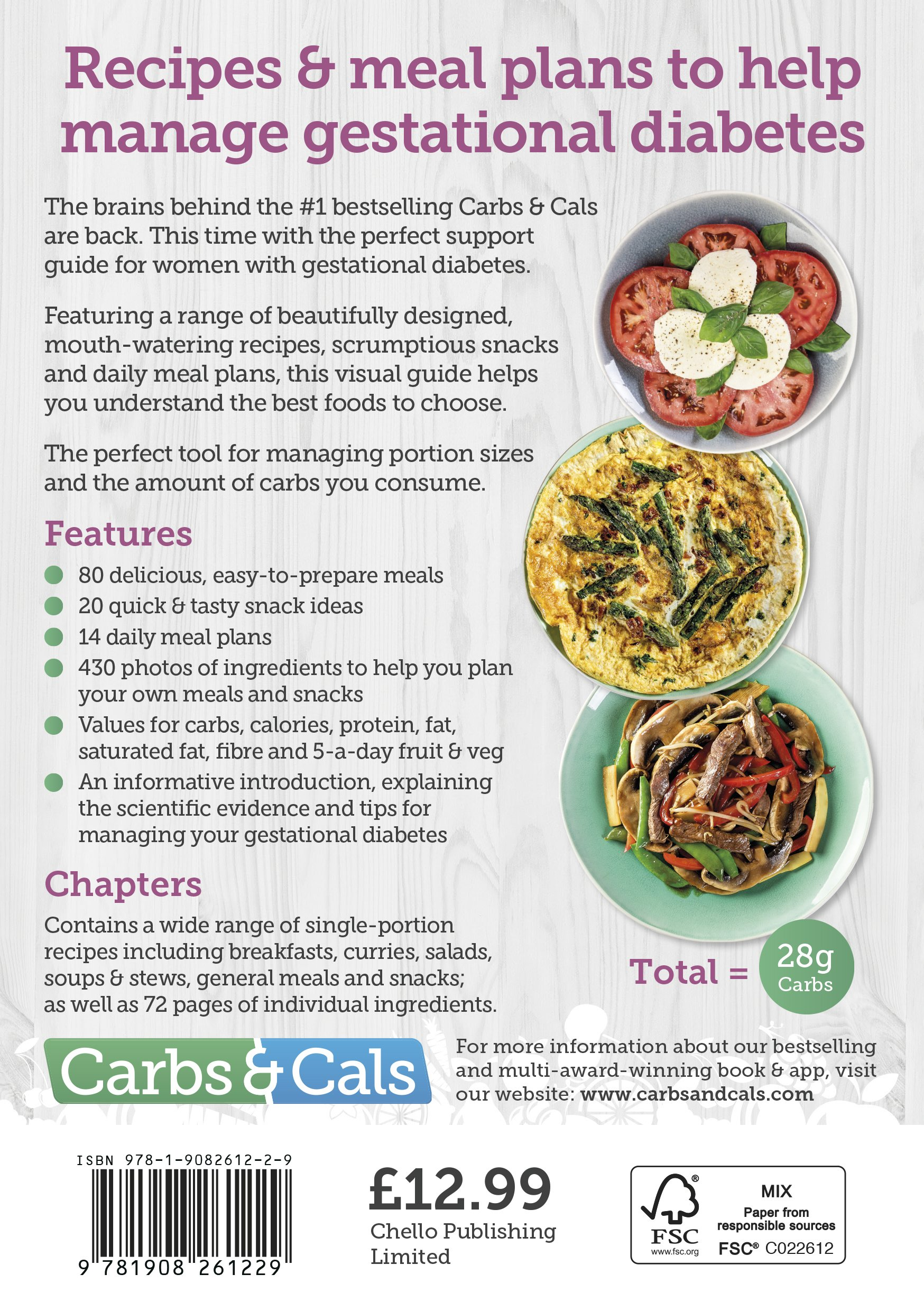 Carbs cals gestational diabetes 100 recipes designed by diabetes carbs cals gestational diabetes 100 recipes designed by diabetes specialist dietitians amazon chris cheyette yello balolia 9781908261229 books forumfinder