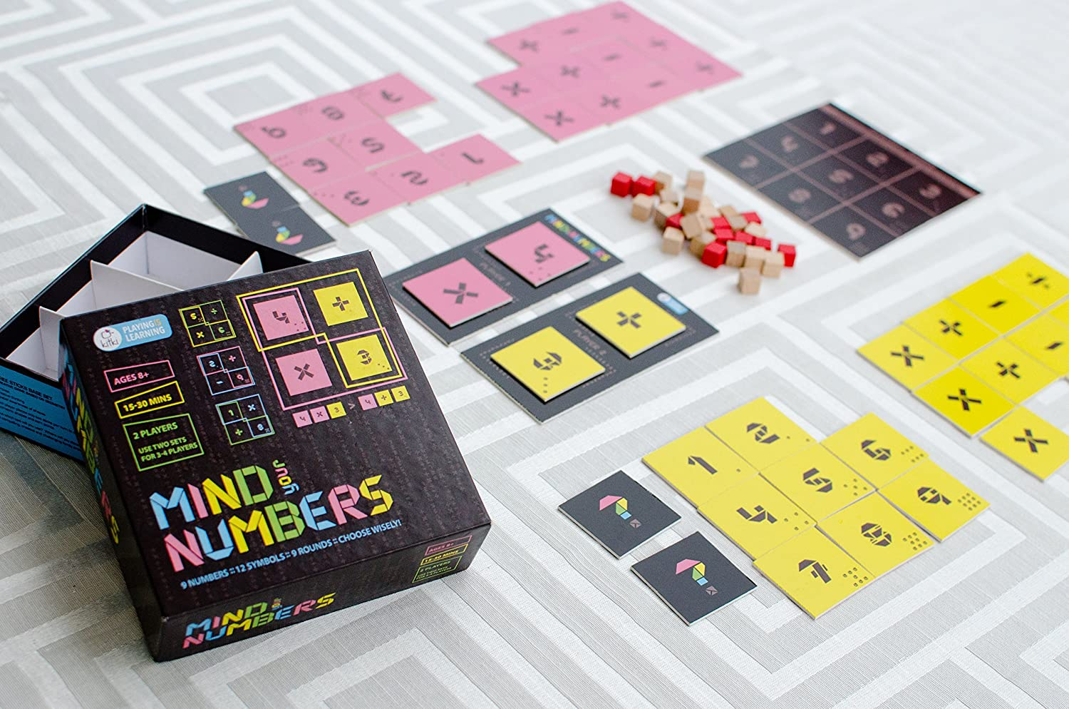 Kitki Mind Your Numbers Math Game