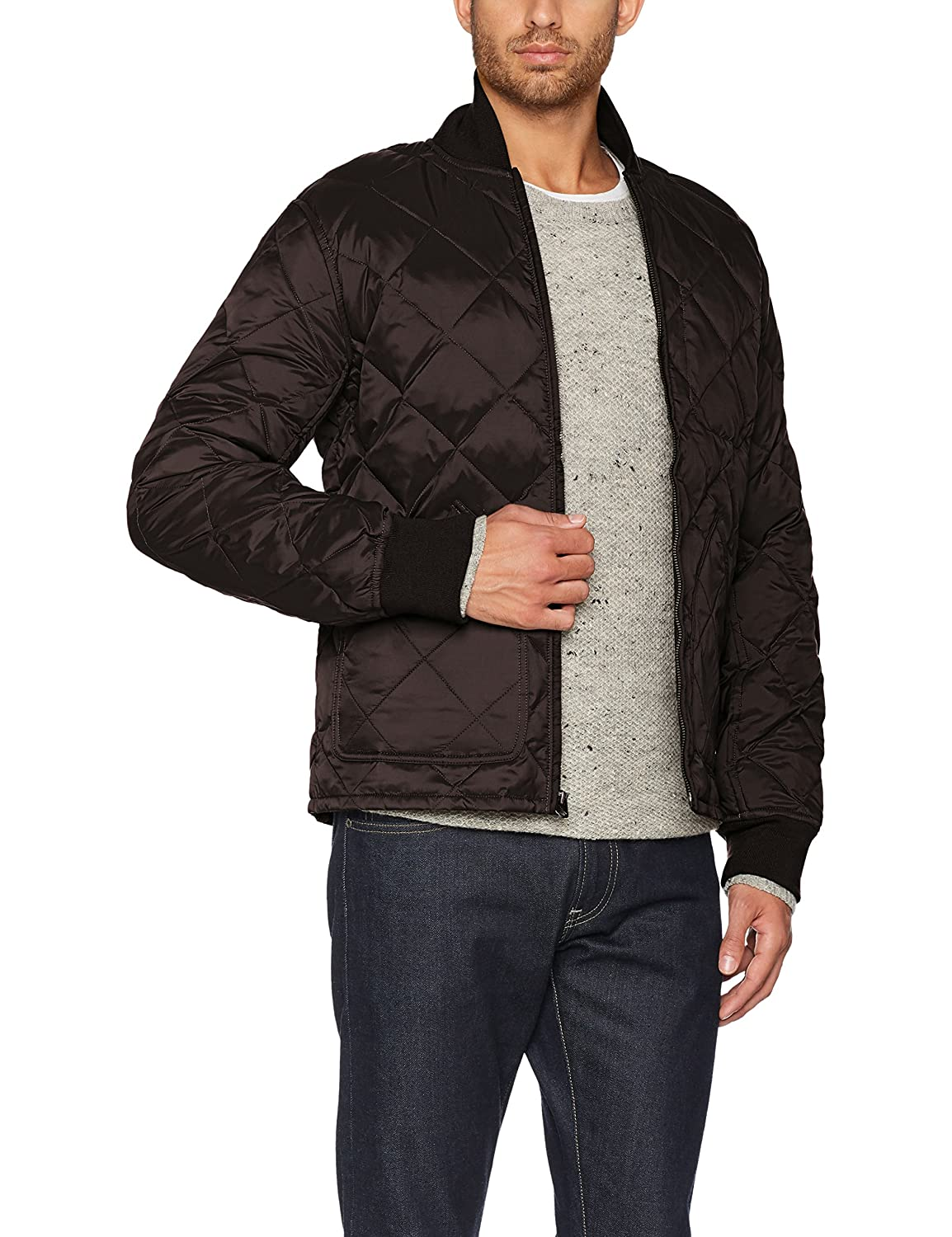 Dockers Vert 1 Blouson Jacket olive Quilted Down Homme Large pIwS8q