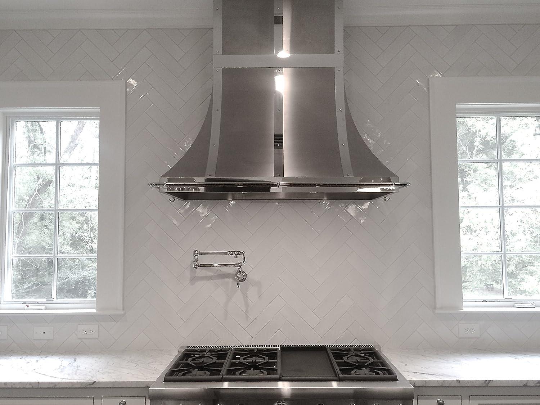 3x12 handmade in spain glossy finish white crackled ceramic tile 3x12 handmade in spain glossy finish white crackled ceramic tile kitchen bath amazon dailygadgetfo Choice Image