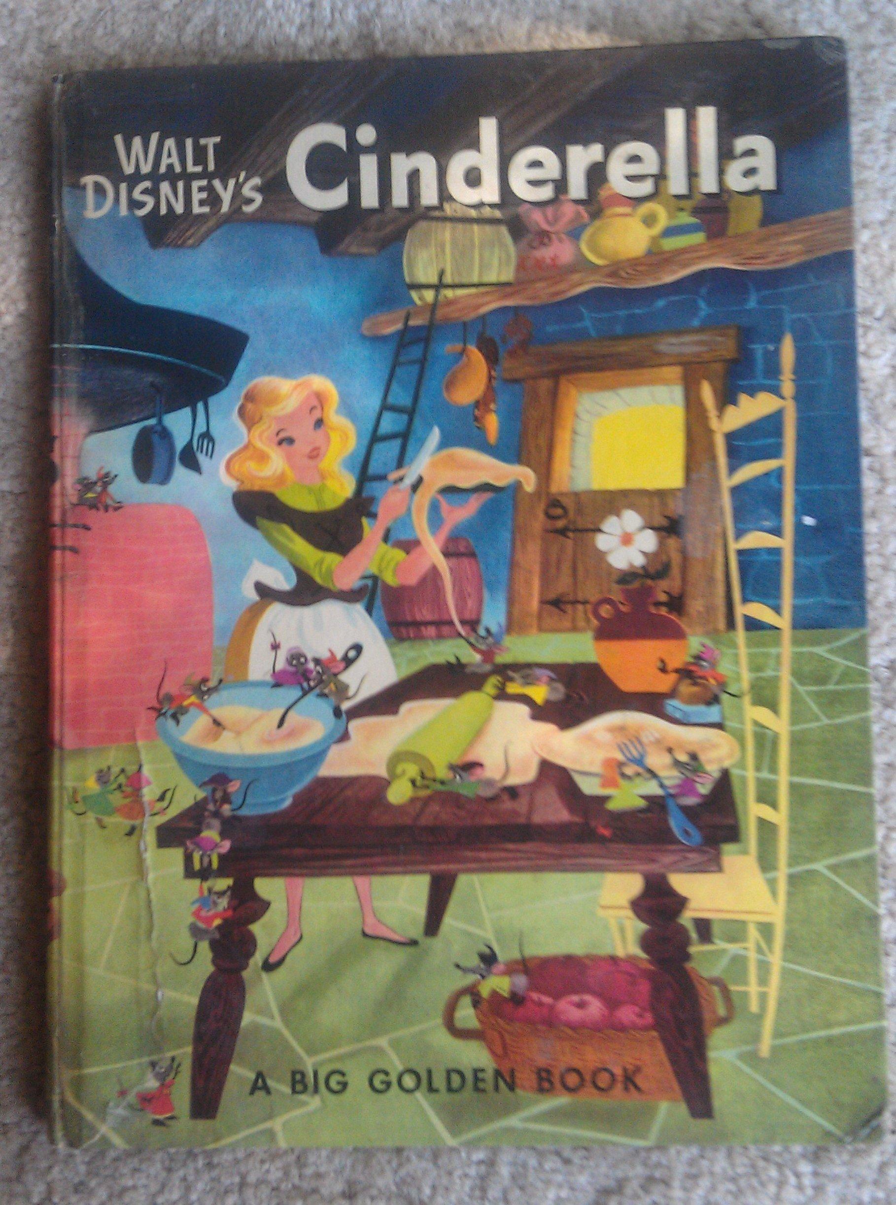 Disney cinderella picture book 1