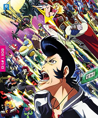 space dandy collector s blu ray set 13 episodes amazon co uk