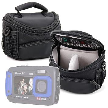 DURAGADGET Funda/Bolsa Protectora Negra para cámara Polaroid IE090 ...