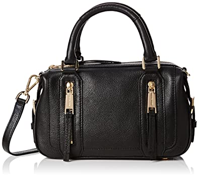 c840180253aa Michael Kors Julia Medium Black Leather Shoulder Bag Black Leather:  Amazon.co.uk: Luggage